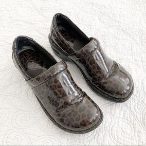 BOC By Born Peggy Faux Patent Leather Comfort Clog